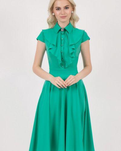 Летнее платье зеленый Marichuell