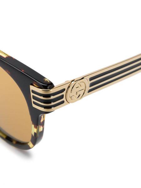 Okulary przeciwsłoneczne okrągły szkło Gucci Eyewear