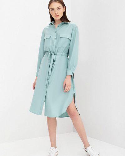Бирюзовое платье Evercode