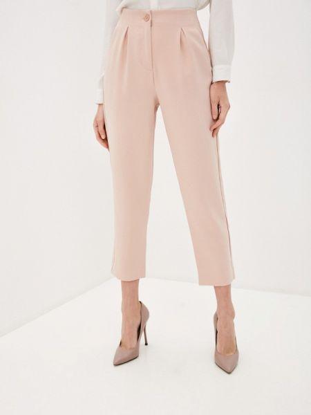 Розовые классические брюки с карманами Ovs