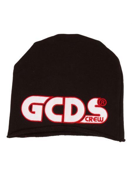 Czarna czapka Gcds