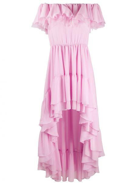 Różowa sukienka Giamba