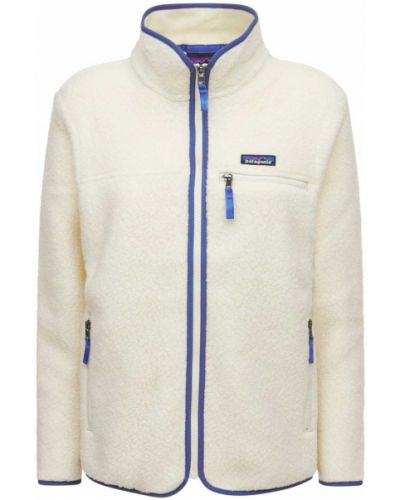 Бежевая куртка винтажная Patagonia