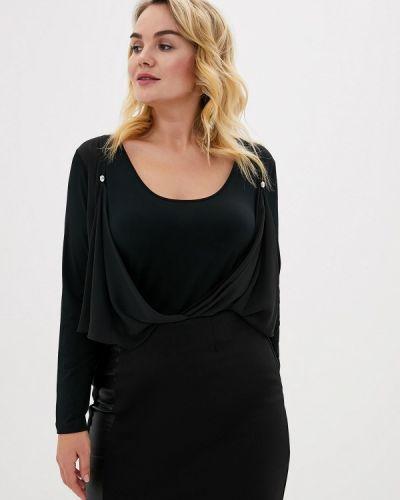 Блузка - черная Over