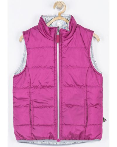 Куртка двусторонняя розовый Coccodrillo
