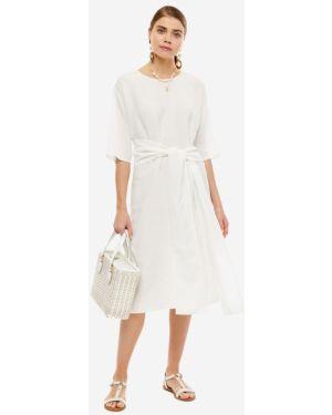 Платье с поясом Stefanel