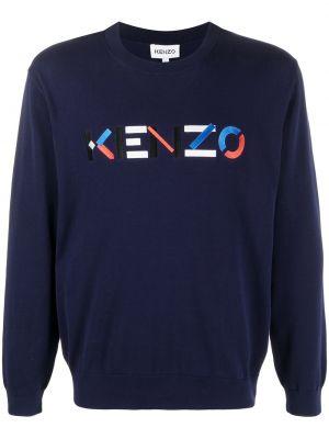 Bawełna z rękawami bawełna bluza z haftem Kenzo