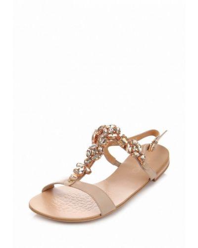 Бежевые сандалии Ditto