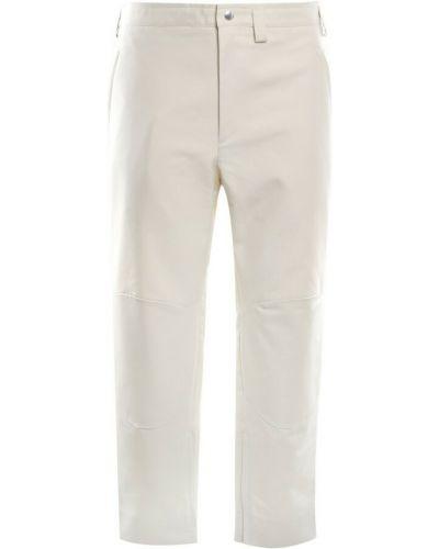 Beżowe spodnie Jil Sander
