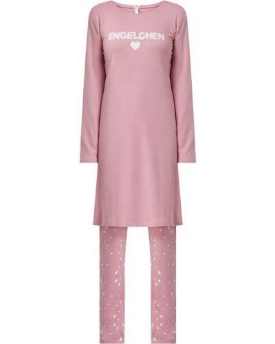 Koszula nocna bawełniana - różowa Louis & Louisa
