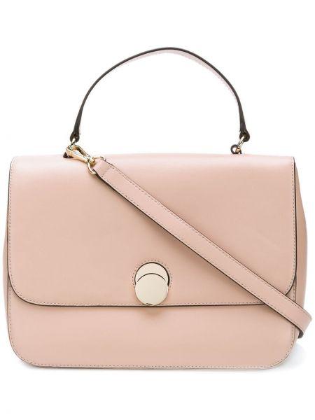 Парусиновая розовая сумка-тоут Tila March