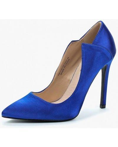 Синие туфли на каблуке Lost Ink.