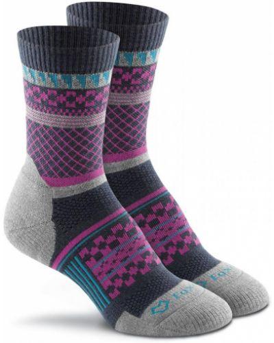 Розовые шерстяные спортивные носки Foxriver