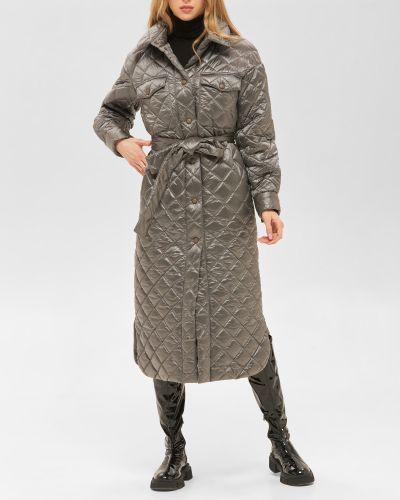 Пальто оверсайз - серое Mila Nova