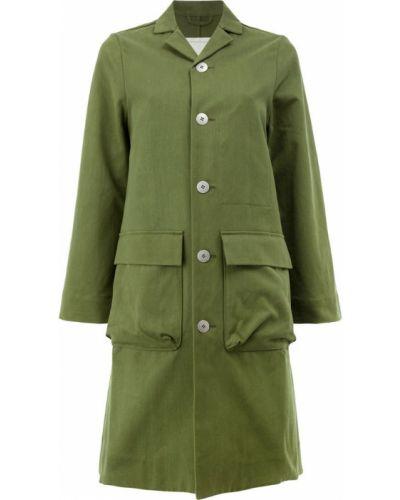 Пальто милитари однобортное Toogood