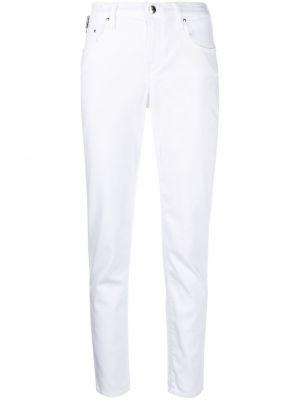 Прямые белые джинсы на пуговицах Jacob Cohen