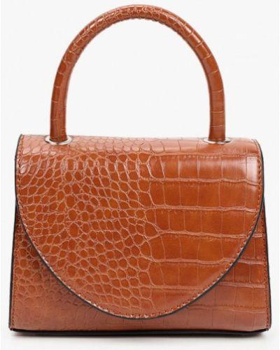 Кожаная сумка - коричневая Keddo