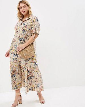 Повседневное платье бежевое Berkline