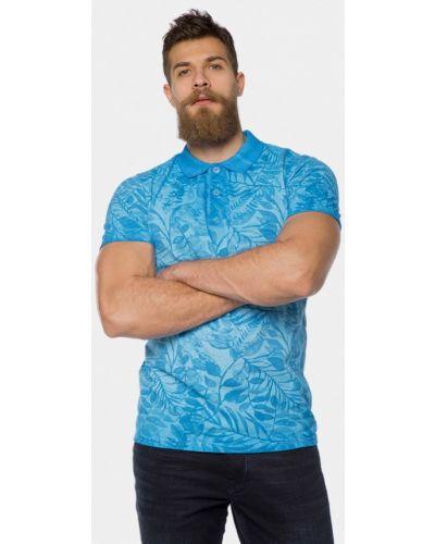 Голубое поло Mr520