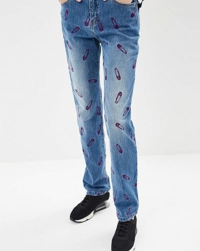 Прямые джинсы синие Versus Versace