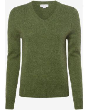 Zielony sweter wełniany Brookshire