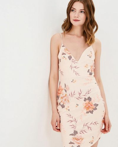 Платье весеннее бежевое Edge Street