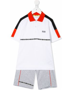Klasyczny garnitur - biały Boss Kids