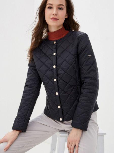Утепленная куртка демисезонная черная Baon