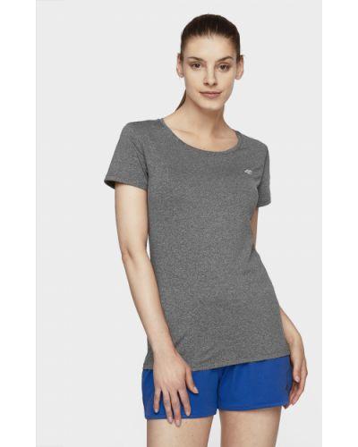 Темно-серая футболка 4f