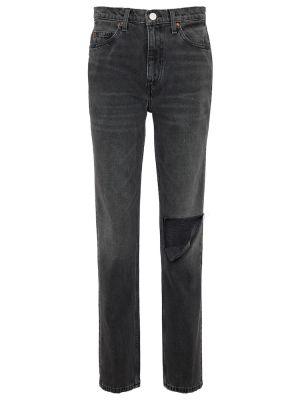 Czarne jeansy bawełniane Re/done