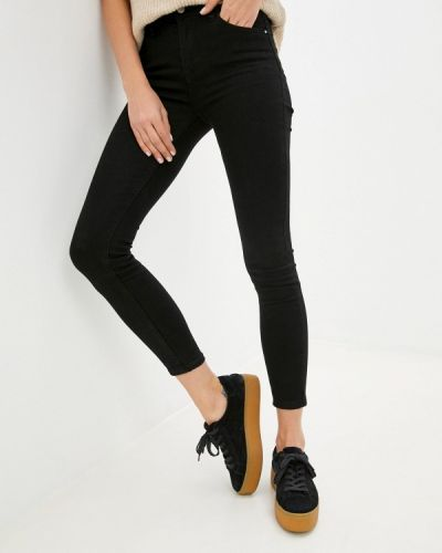 Черные зимние джинсы Miss Bon Bon