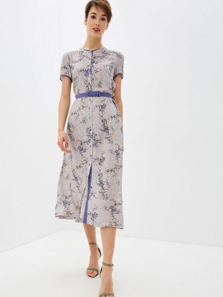 Платье прямое фиолетовый Profito Avantage