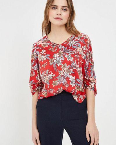 Блузка с длинным рукавом весенний красная Sela