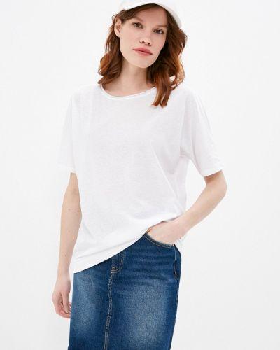 С рукавами белая футболка Q/s Designed By