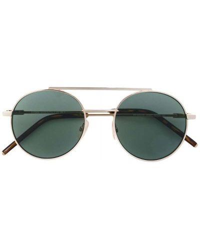 Солнцезащитные очки металлические двойные Fendi Eyewear