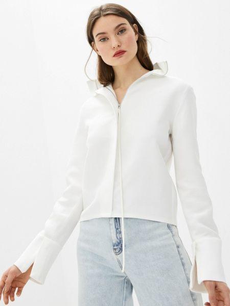 Белая блузка с длинным рукавом Helmut Lang