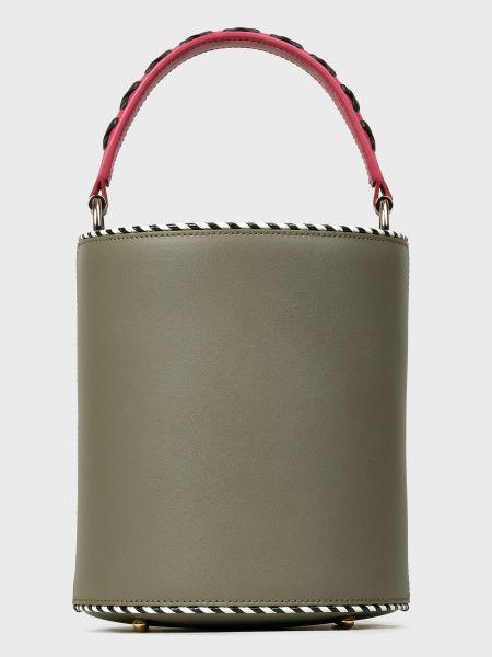 Кожаная зеленая кожаная сумка Les Petits Joueurs