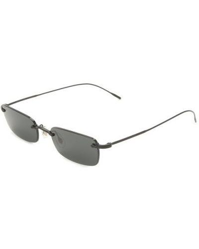 Черные солнцезащитные очки Oliver Peoples