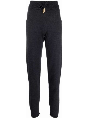 Серые спортивные брюки из полиэстера Lorena Antoniazzi
