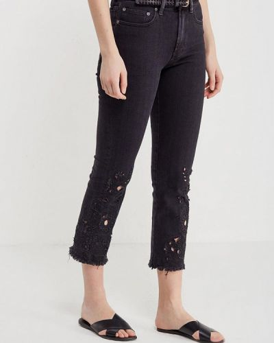Черные джинсы-скинни Free People