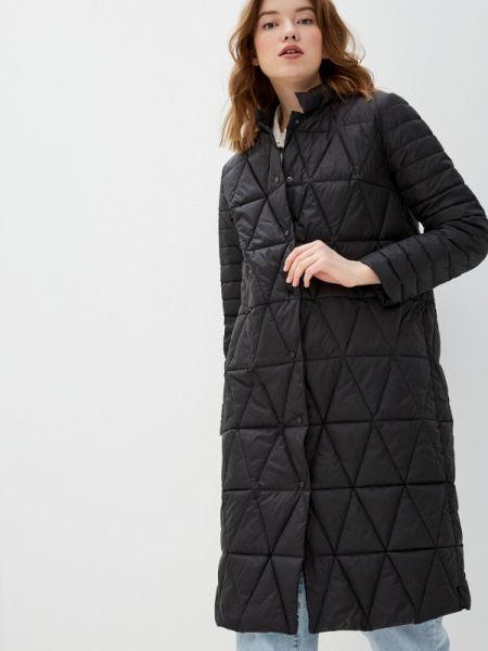 Утепленная куртка демисезонная черная Bulmer