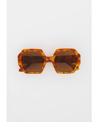 Коричневые зимние очки Mango