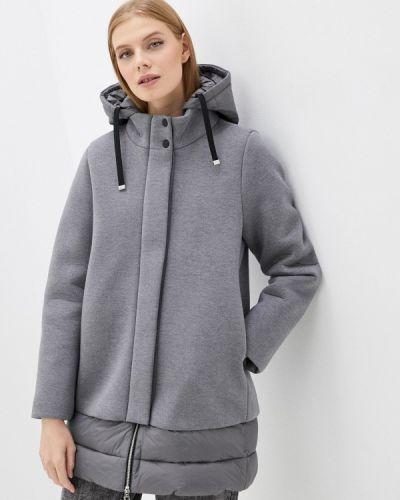 Утепленная куртка - серая United Colors Of Benetton