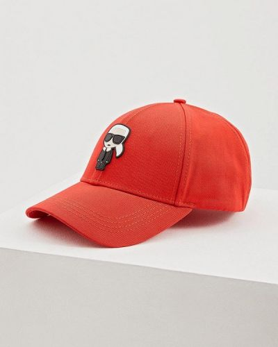 Красная бейсболка Karl Lagerfeld