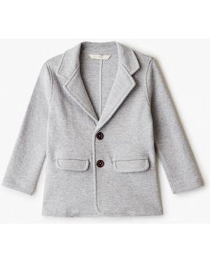 Серый пиджак Mango Kids