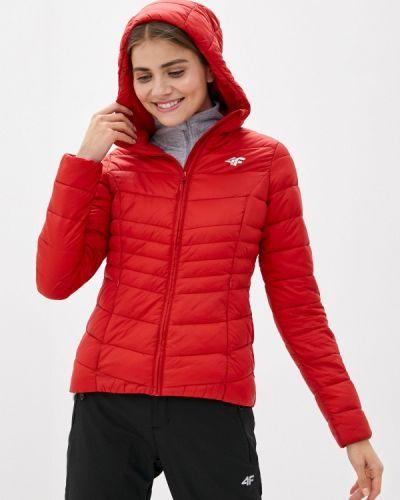 Красная теплая куртка 4f