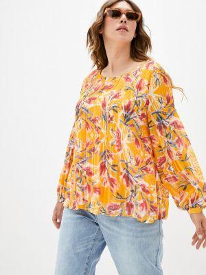 Блузка - оранжевая Zizzi