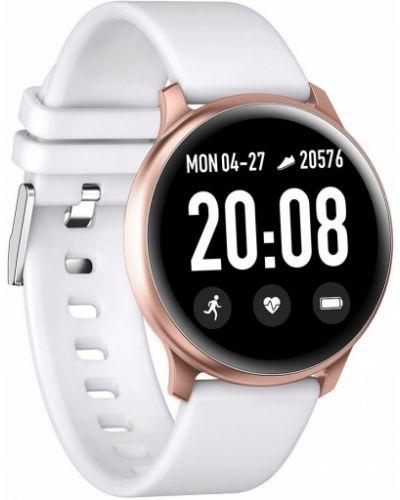 Czarny sport zegarek sportowy silikon Gino Rossi
