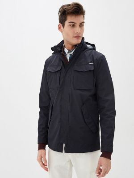 Облегченная черная куртка Cortefiel