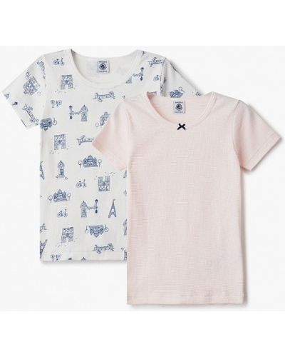 Бирюзовая футболка с короткими рукавами Petit Bateau